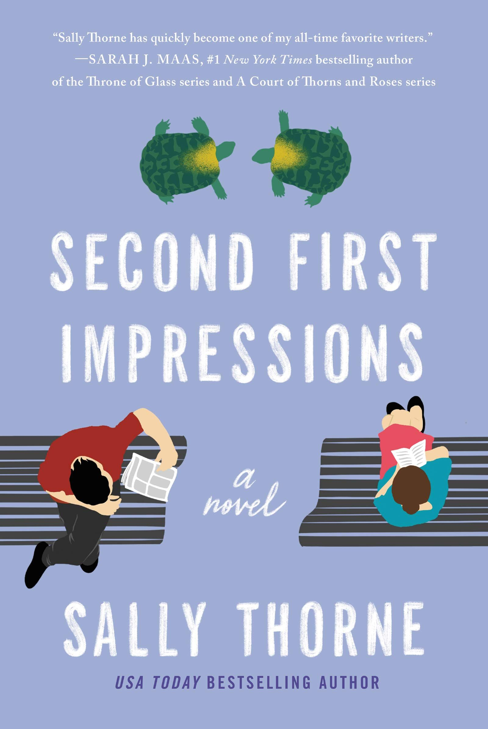 CoverReveal Second First Impressions by Sally Thorne in
