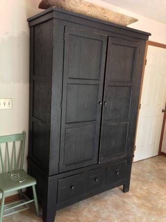 Broyhill Attic Heirlooms Armoire Broyhill Library Cabinet