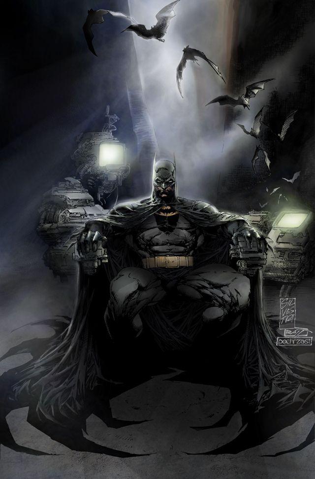 #Batman #Fan #Art. (Batman - Colored) By: Pochrzas. (THE * 5 * STÅR * ÅWARD * OF * MAJOR ÅWESOMENESS!!!™)