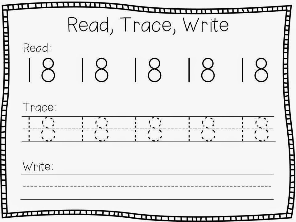 Daily 3 Math - Math Writing: Unit 2 - Teen Numbers   Teen numbers ...