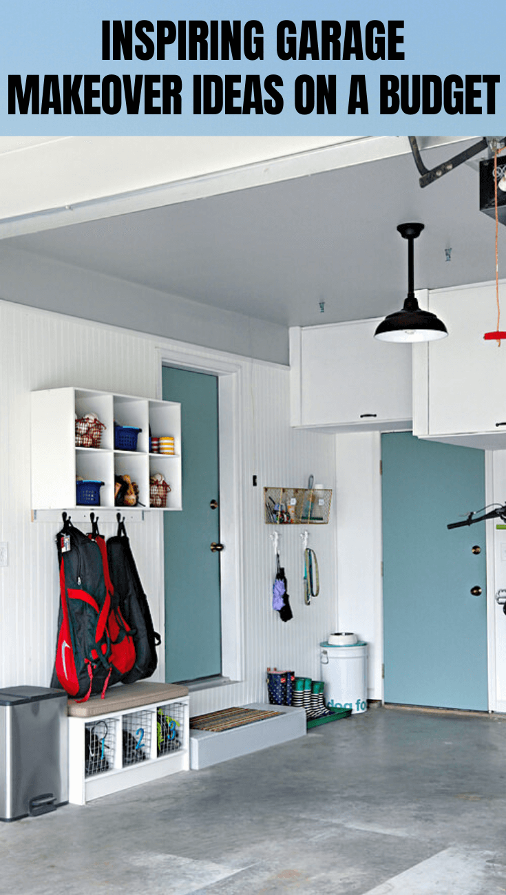 Awesome Garage Makeover Ideas On A Budget In 2020 Garage Design