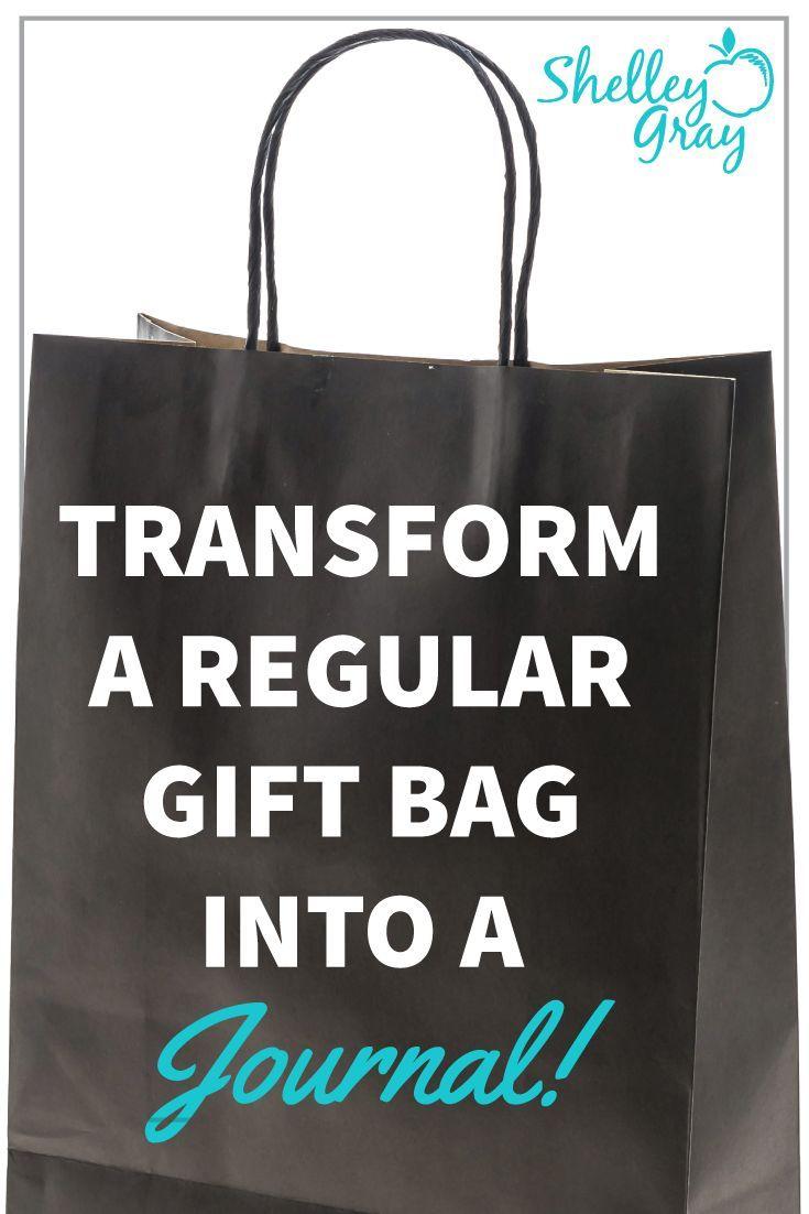 Gift Bag Journal Writing Ideas School Gifts Dollar