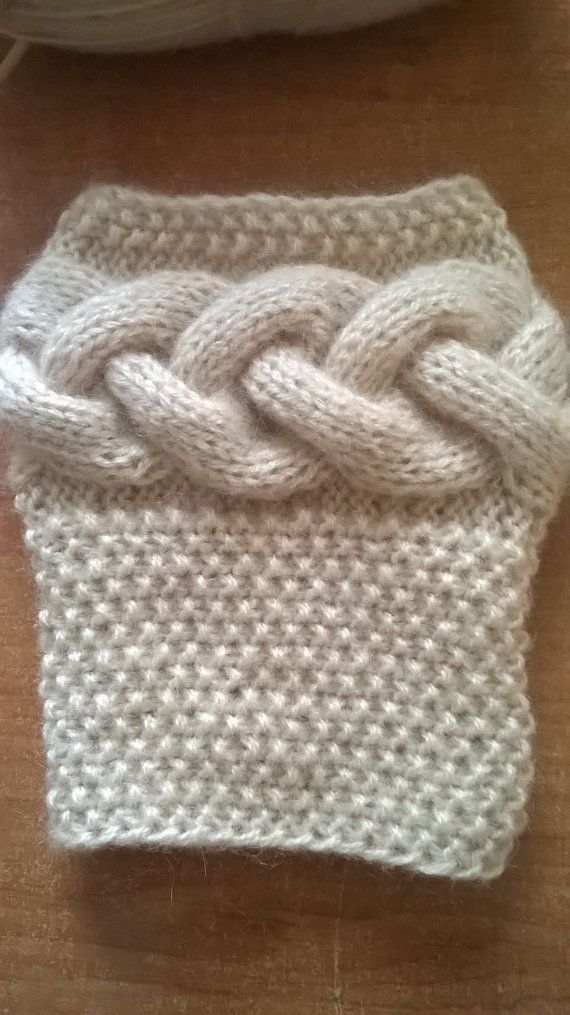 Hand Knit Boot Cuffs Boot Toppers Leg Warmers By Iamyourknitter