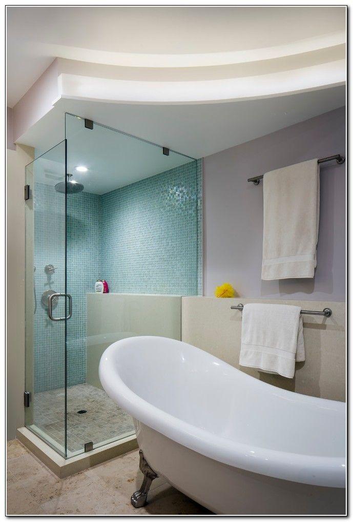 Dusche Neben Badewanne Abtrennung Idea Board Pinterest