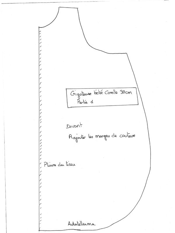 Relativ gigoteuse partie 1.pdf par Isabelle - Fichier PDF | Poupée 30 cm  SU31