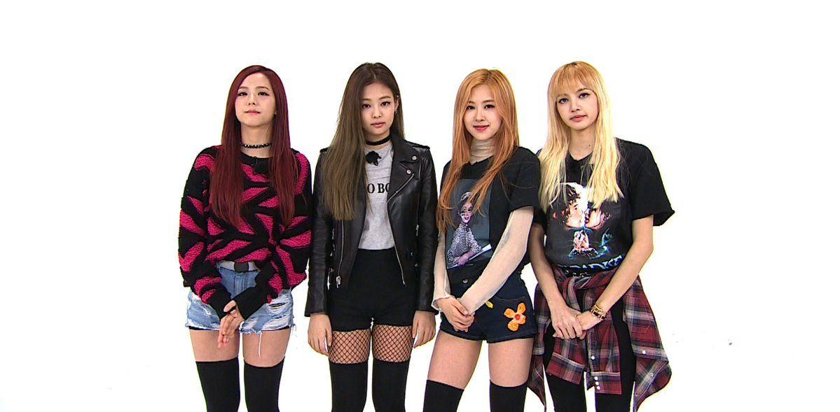 Blackpink Was Finally On Weekly Idol And Godammit They Were So Freakin Cute Blackpink Fashion Blackpink Outfits