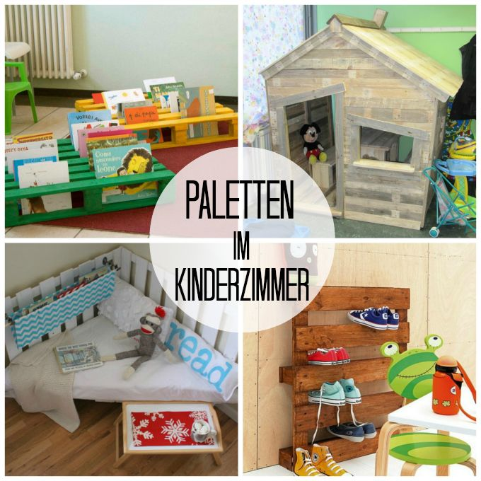 DIY-Idea With Pallets - Upcycling - We Heart Home