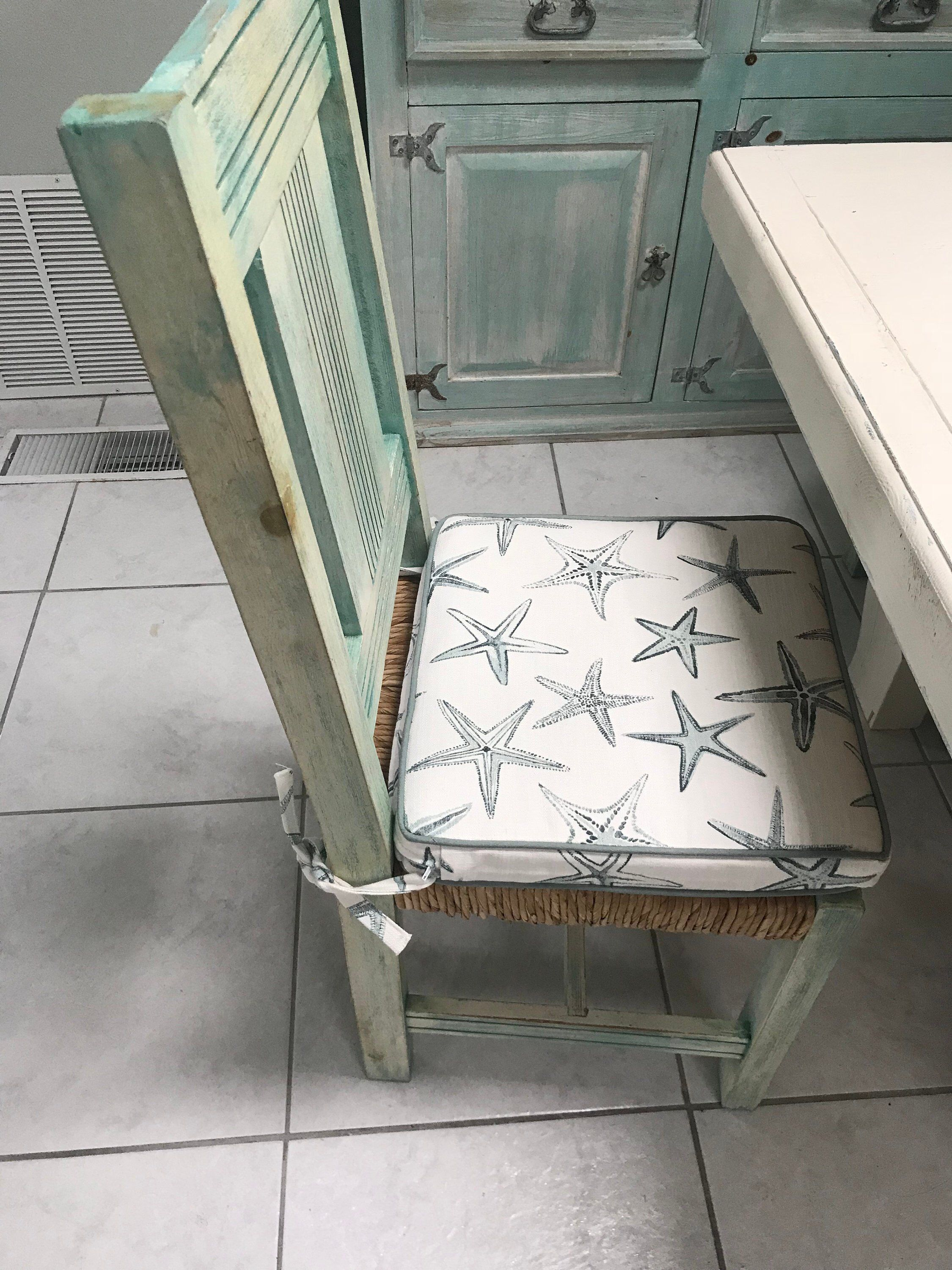Dining Chair Pad with Ties Kitchen chair Cushions Seat