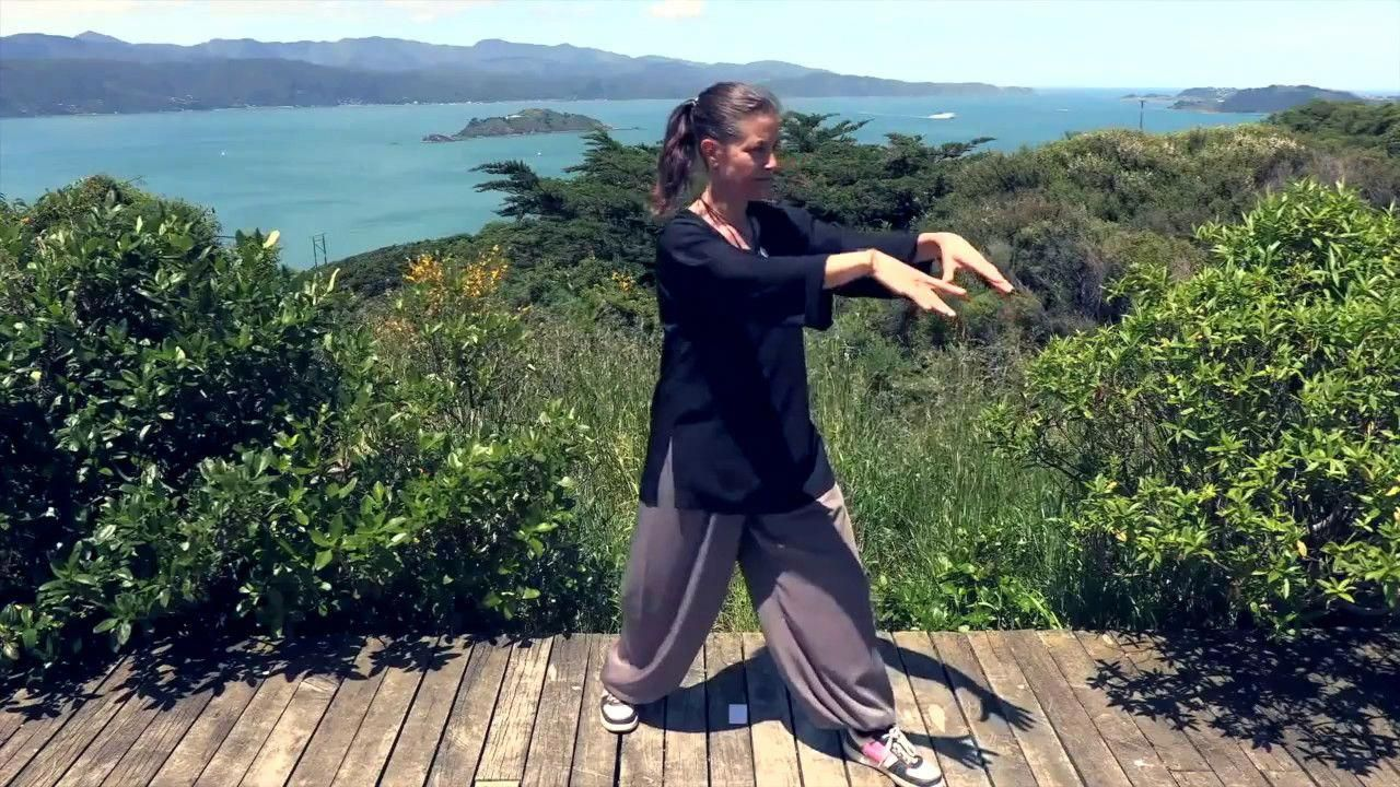 Tai Chi 5 Minutes a Day Module 01 easy for beginners