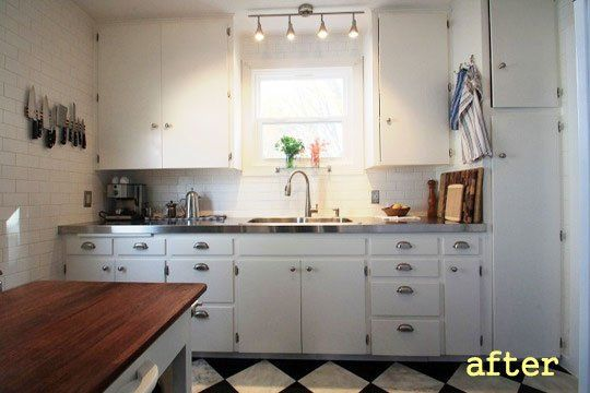 before after an updated 1940s kitchen the home project - 1940s Kitchen