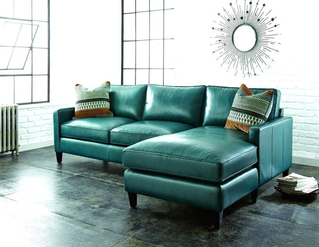 49 Elegant Leather Sofa Designs Ideas With Images Blue Leather