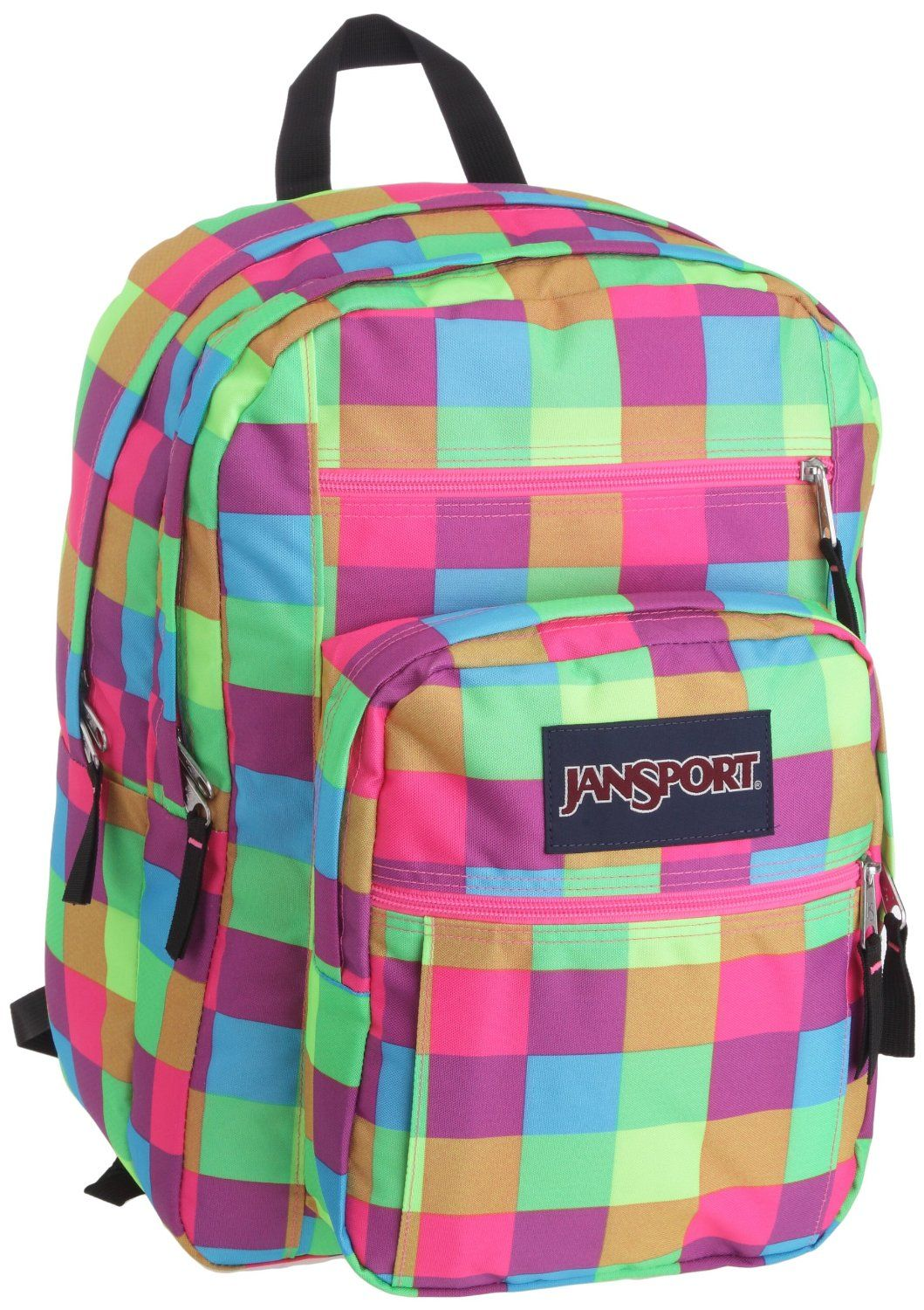 8b9063822e28 plaid Jansport backpack for girls