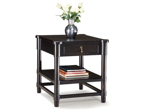 Love this end table & matching cocktail table by Fairfield Chair!!!!