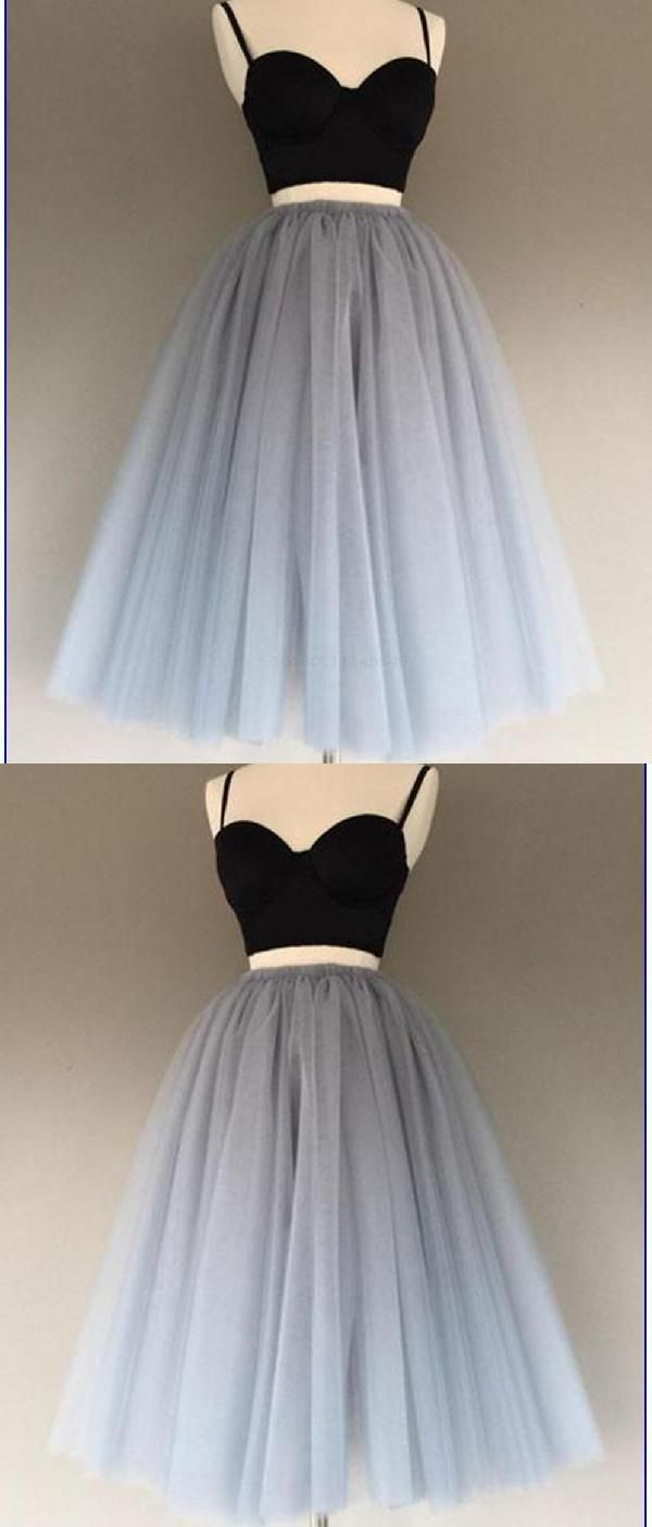 Hot sale distinct sexy short two piece simple homecoming