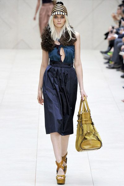 Burberry Prorsum Spring 2012 Ready-to-Wear Collection - Vogue
