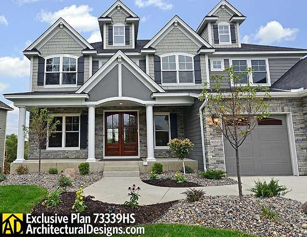 Plan 73339HS: Storybook House Plan With 4 to 6 Bedrooms   Half ...