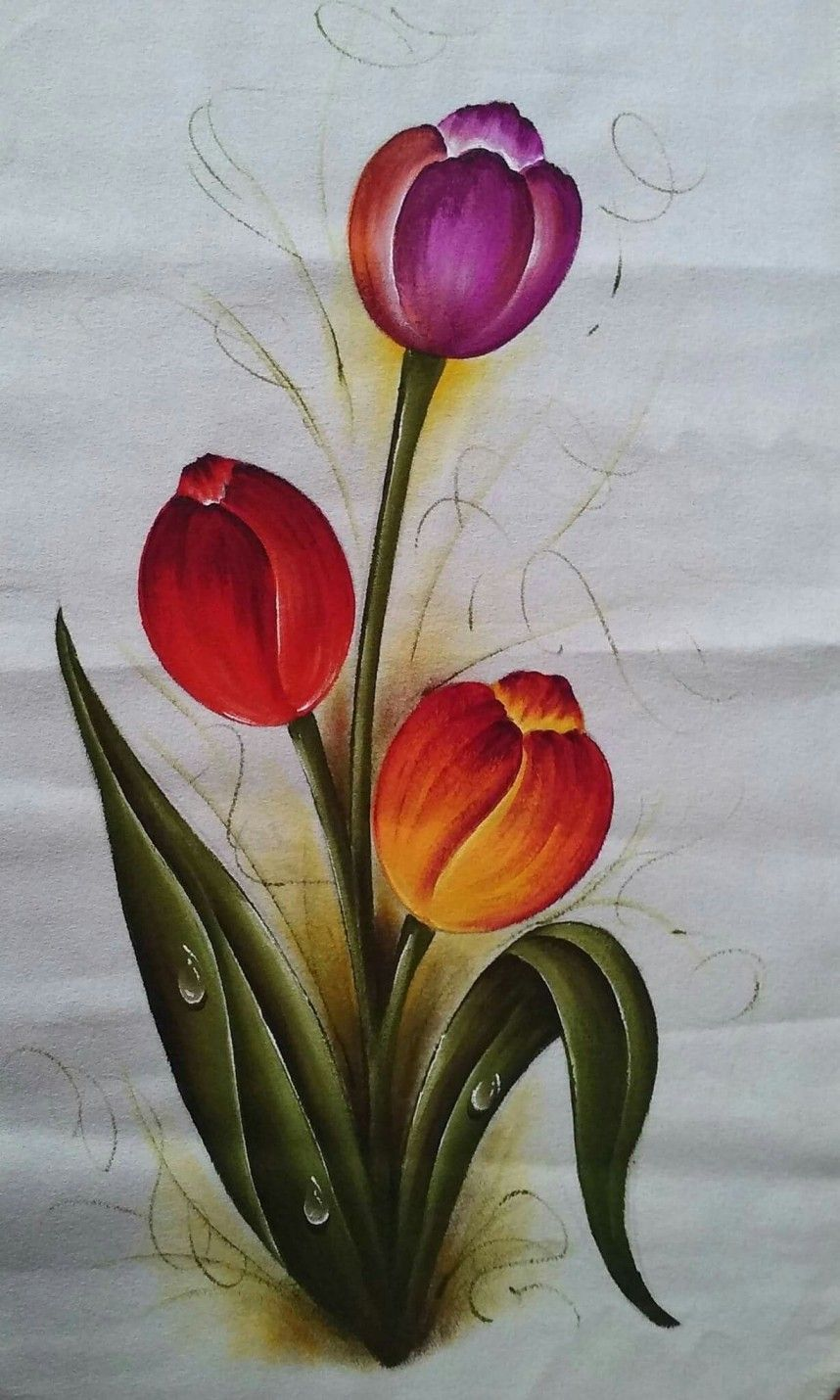 008 Flower Designs Vase Fabric Incredible Painting Fabric