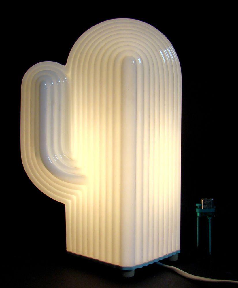 Kaktus Leuchte Lampe Memphis Designklassiker Magistretti Sottsass Ära 80er TOP