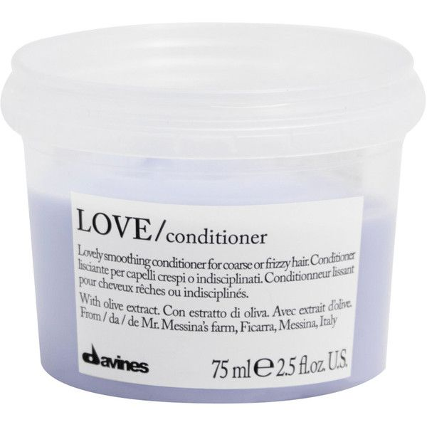 Davines Love Smooth Conditioner 75ml found on Polyvore featuring beauty products, haircare, hair conditioner, fillers, davines hair care and davines Top Beauty Products...