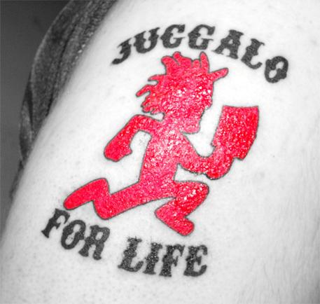 Juggalo For Life Hatchetman Ta By Dj Revx On Deviantart Icp Tattoos Insane Clown Posse Therapeutic Art Projects