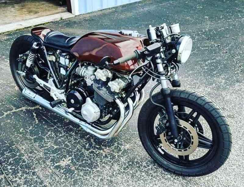 1982 honda cb750f super sport Cafe Racer Custom cafe