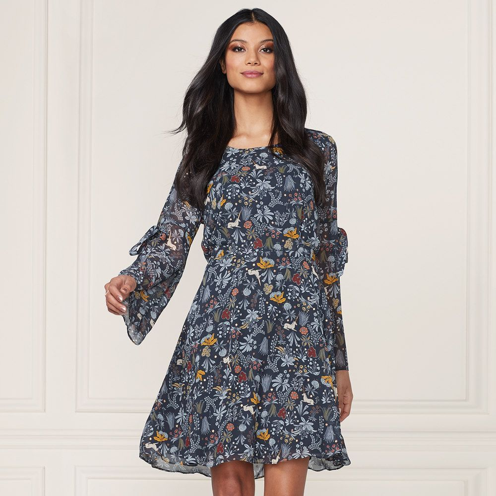 f9b2b866113 LC Lauren Conrad Runway Collection Floral Fit   Flare Dress - Women s