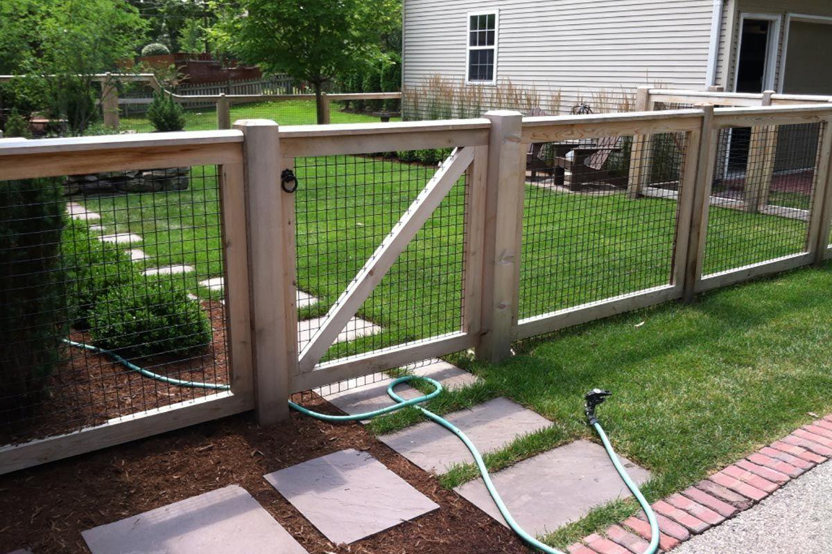 Custom Fences Chicago Custom Made Designs Backyard Fences Front Yard Fence Farm Fence