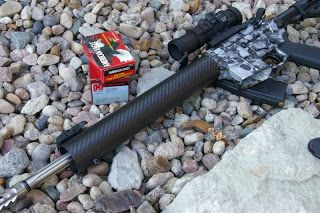clark custom carbon fiber ar15 free float handguard review