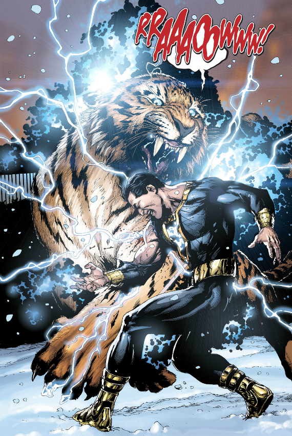 Black Adam Vs Tawny By Gary Frank Dwayne John Has Confirmed He Is Playing In A Future DC Film