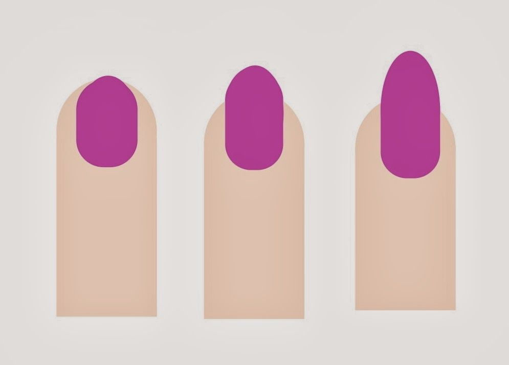 Cult Nails Blog: Nail Shapes OVAL OVAL The oval marries the round ...