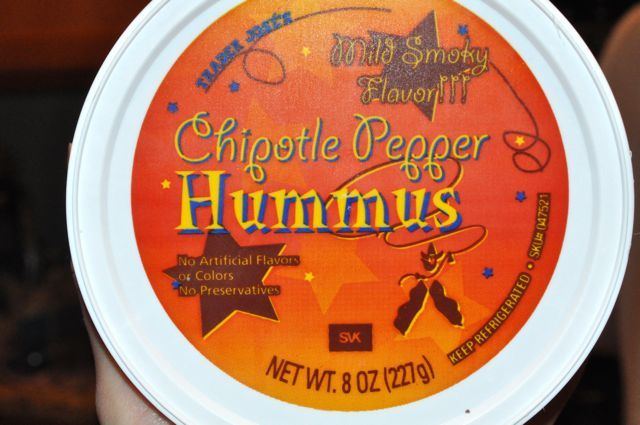 Trader Joe's Chipotle Pepper Hummus