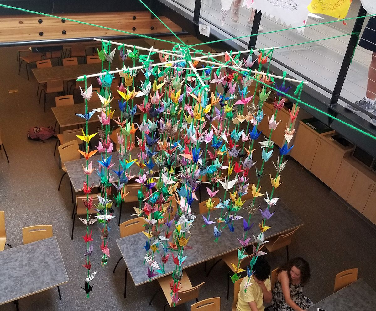 How To Help Your Students Collaborate On Big Projects The Art Of Education University Classroom Art Projects School Art Projects Collaborative Art Projects For Kids
