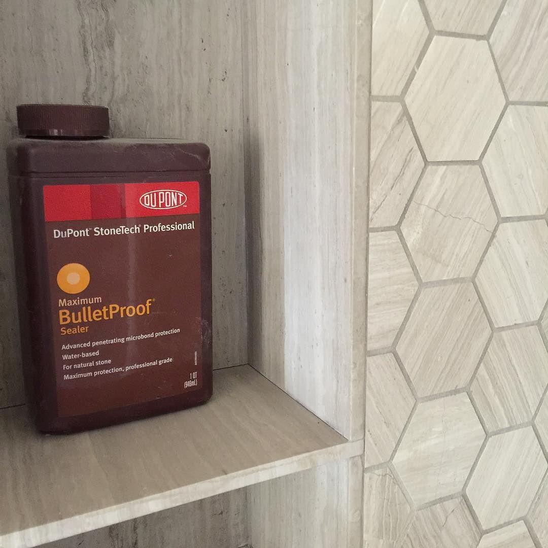 The Only Way To Go For Tile Sealer Dupont Bulletproof By Risingerbuild