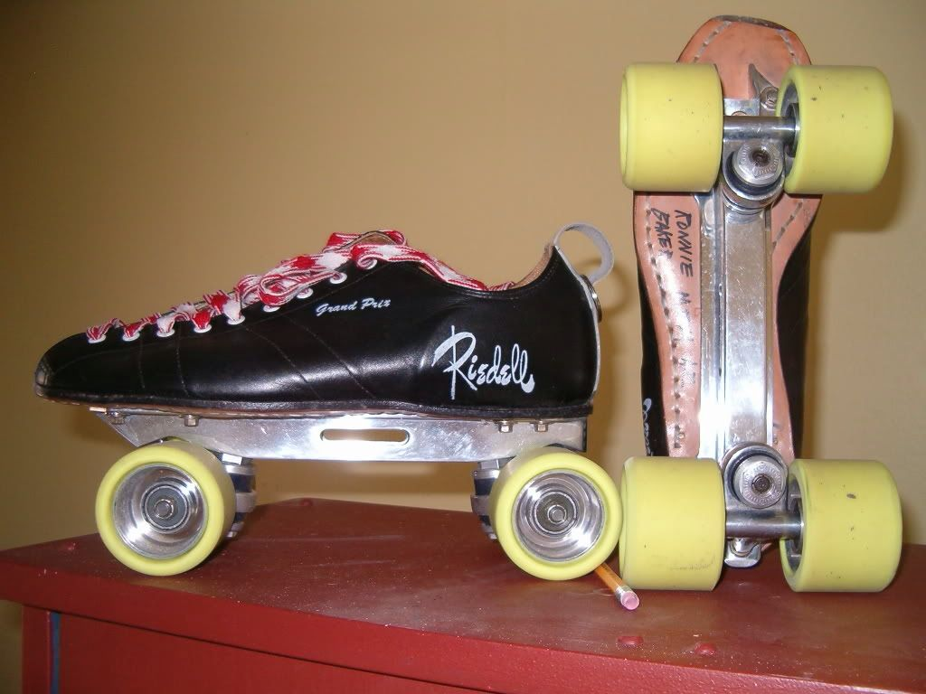 Zumiez roller skates - Shaved Nose Labeda Speed Plate With Reidell 195 Gran Prix Skunk Boots And Sgi Vintage Interceptor