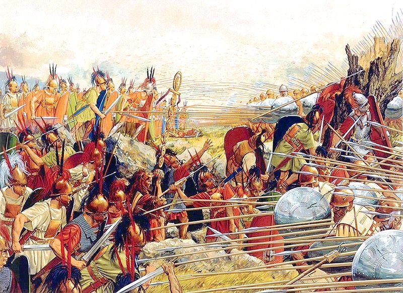 Battaglia di Pydna, 168 a.C.