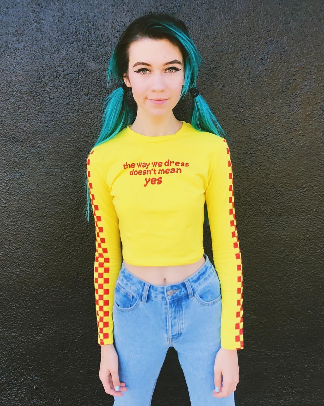 36 7k Likes 1 085 Comments Jessie Paege Jessietrash On Instagram Little Fairy Girl Jessie Paege Jessie Blue Hair