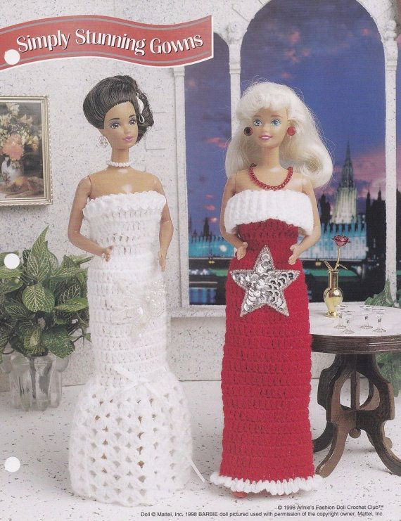 Simply Stunning Gowns, Annie\'s Fashion Doll Clothes Crochet Club ...