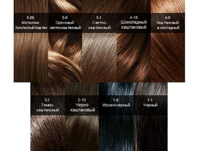 cool Каштановый цвет волос (50 фото): все оттенки для ...
