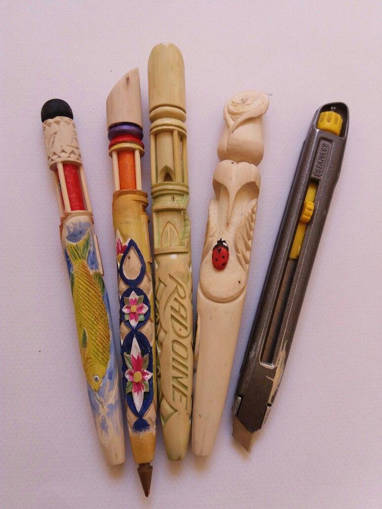 Amazing sculpture #wood_pens