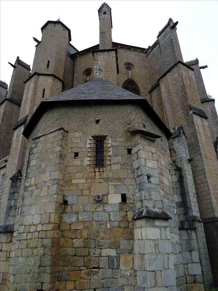 Saint-Bernard-de-Comminges Cathedral-Routes of Santiago de Compostela in France