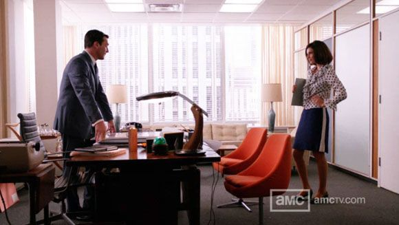 don draper office. Don Draper\u0027s New Season 4 Office On AMC\u0027s Mad Men Features Several Vintage Pieces, Including His Eames For Herman Miller Aluminum Group Chair. Draper