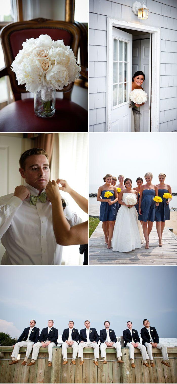 nautical chic new england wedding love the groomsmen attire