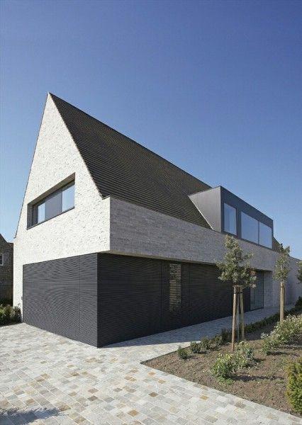 reserviert mollwitz massivbau modernes satteldachhaus in projecto en kernen in 2019. Black Bedroom Furniture Sets. Home Design Ideas