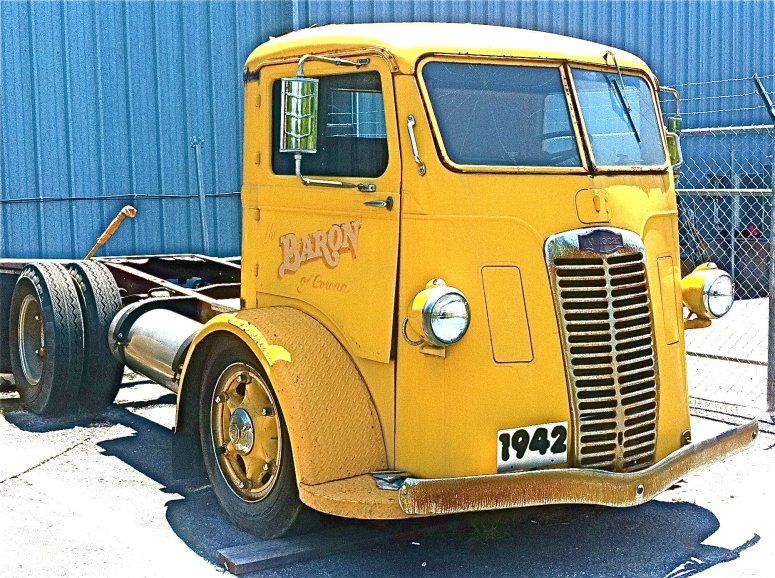 1942 Autocar Cabover Truck in Austin, TX   x cool trucks and