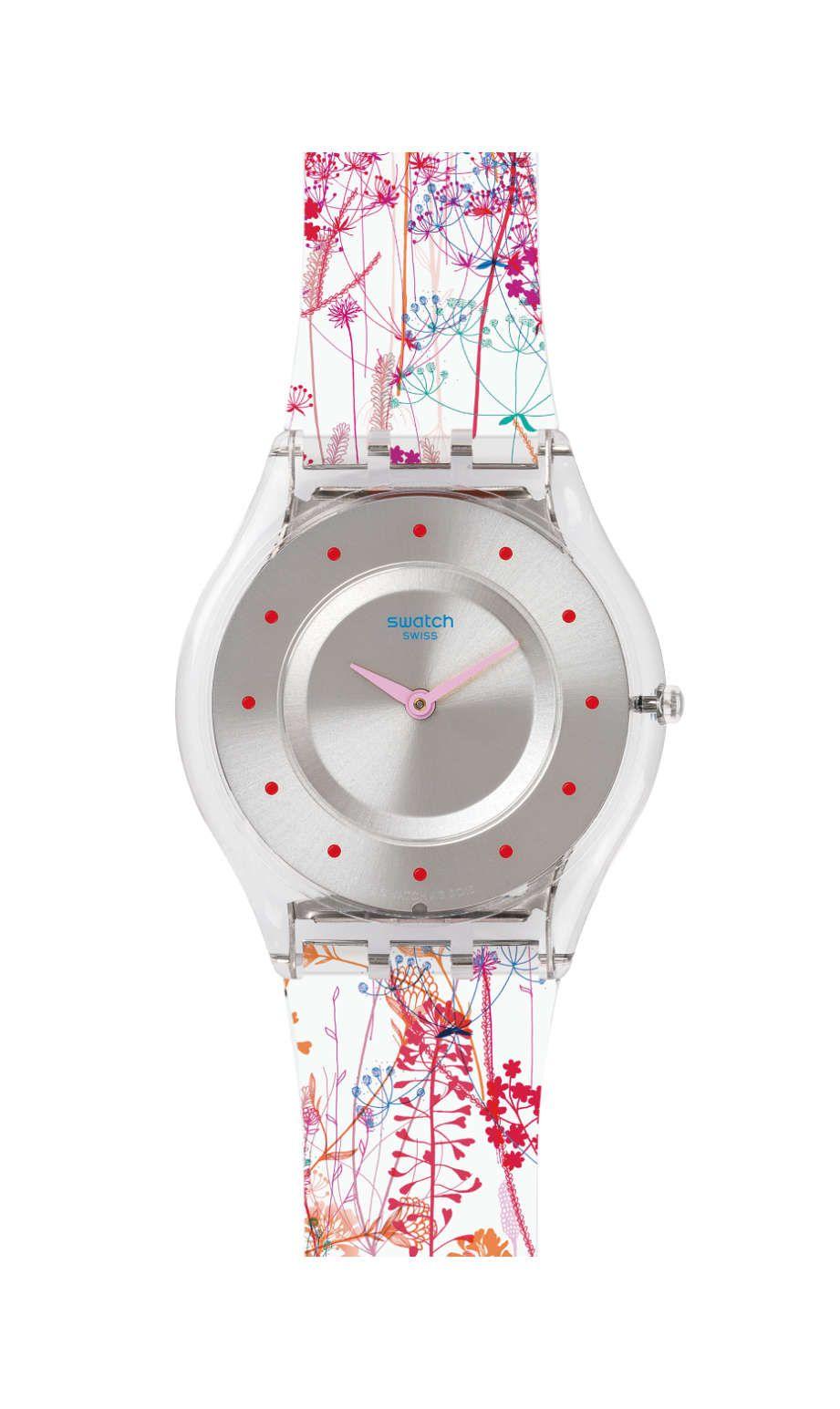 bf9669d6d77d JARDIN FLEURI Swatch Watch | tick tock | Relojes rolex mujer, Swatch ...