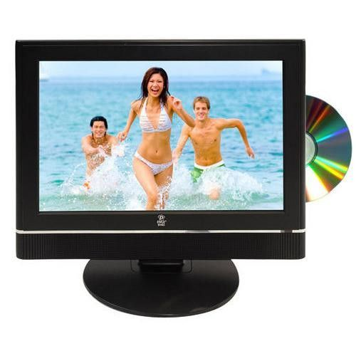 12 Volt Rv Car Truck Boat Plug In 19 Hi Definition Lcd Tv W Built In Dvd Player Lcd Tv Lcd Tv