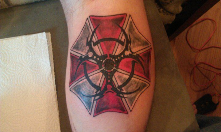 My Resident Evil Tattoo by viperguy586.deviantart.com on ...