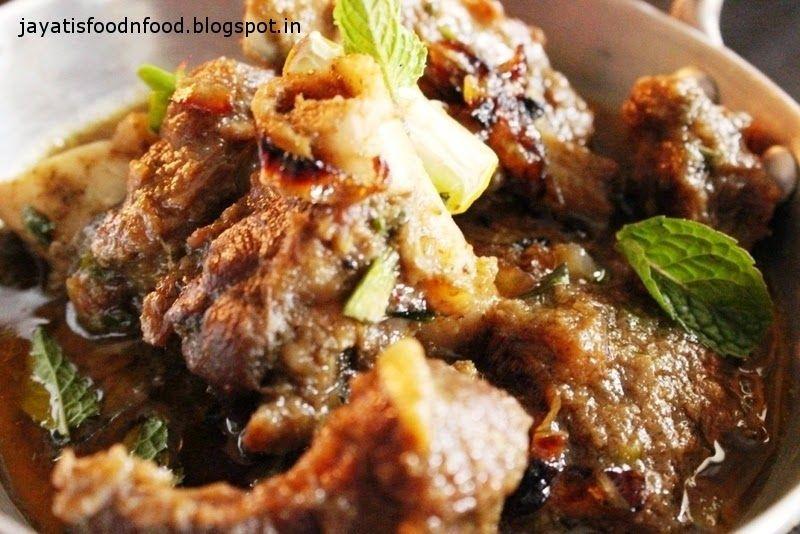 Jayati's Food Journey - Enjoy!!!: Mutton Pudina