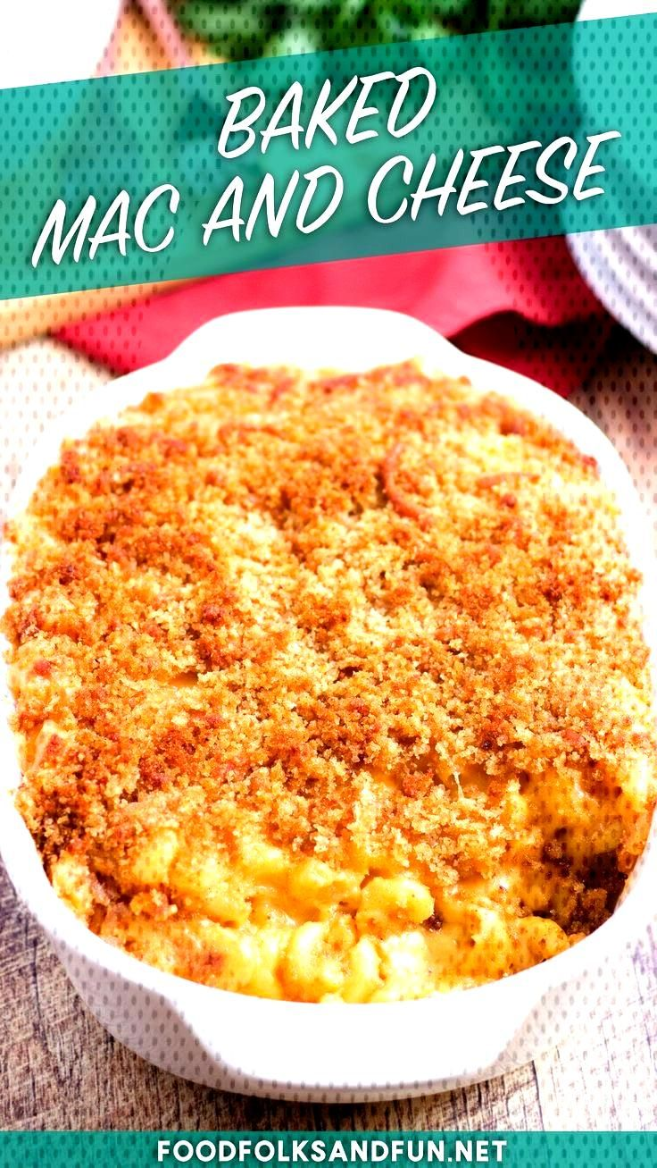 Baked Macaroni and Cheese This homemade Baked Mac and Cheese recipe is easy to make and simply the
