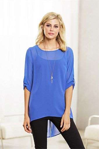 Capture Split Hem Tunic